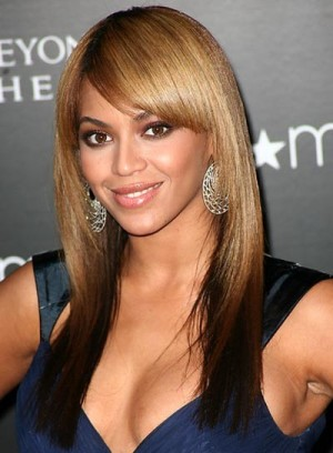 Beyonce - 16 Inches - Indian Remy Hair - Two Toned w/ Side Bang - Lace Front Wig