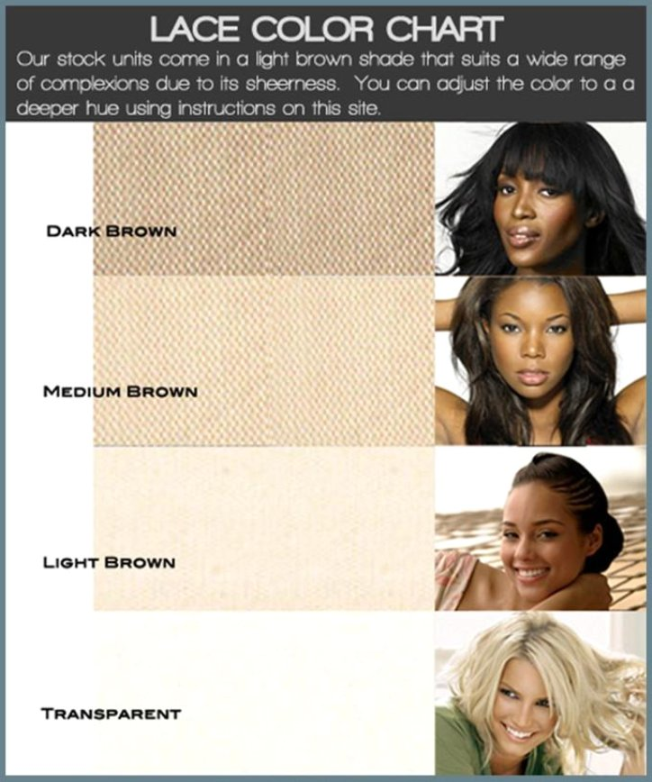 Lace Color Chart Lace Frenzy Wigs Amp Hair Extensions