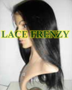 Liza- Indian Remy Hair- Yaki Straight - Lace Front Wig