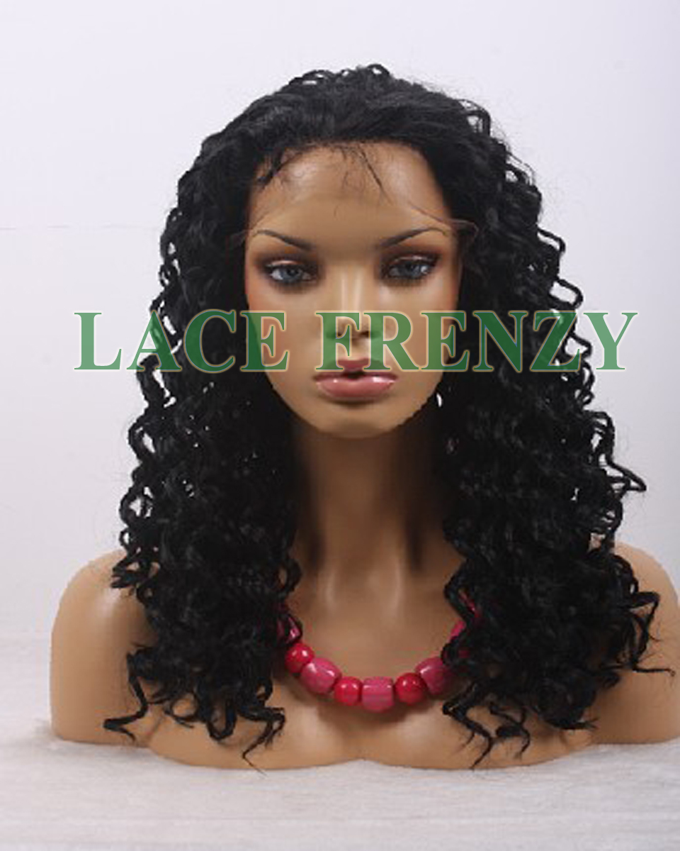 Aubrey -18 Inches Deep Wave -Lace Front Wig