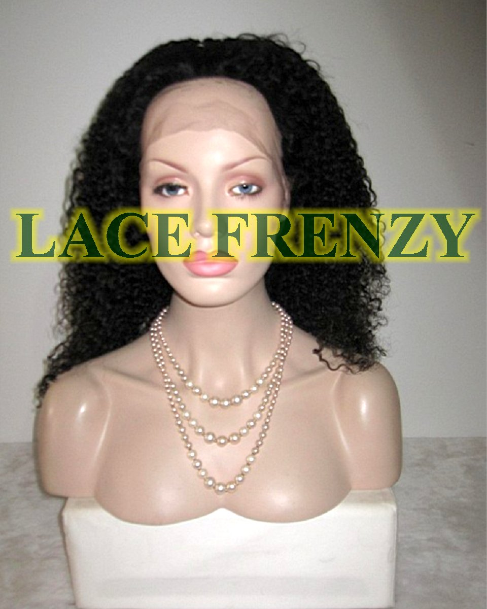 Valencia-Curly - Brazilian Virgin Hair Full Lace Wig