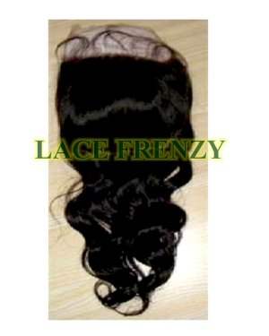 Indian Remy Hair- Body Wave - 13x4 Inches - Lace Frontal