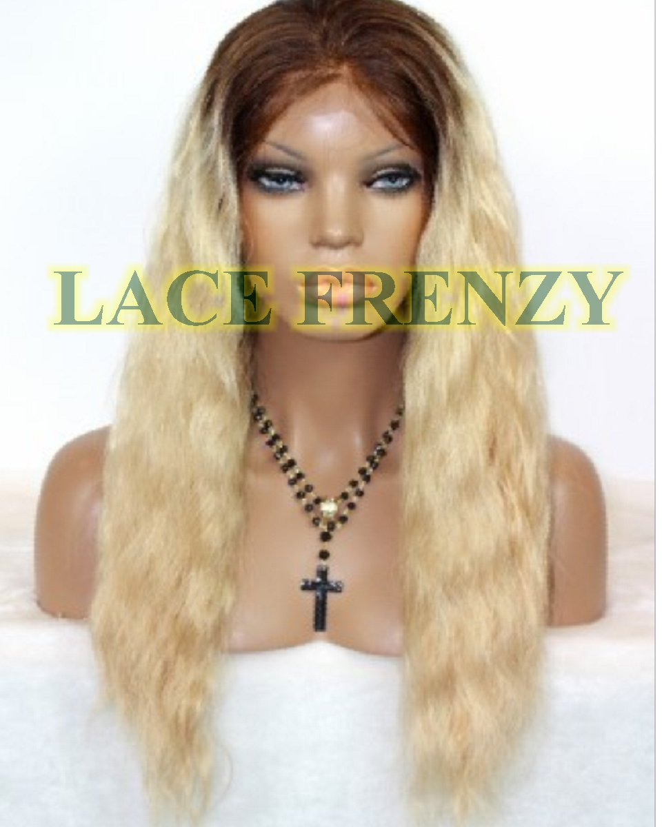 Karma - Two Toned - Wavy - Custom Full Lace Wig