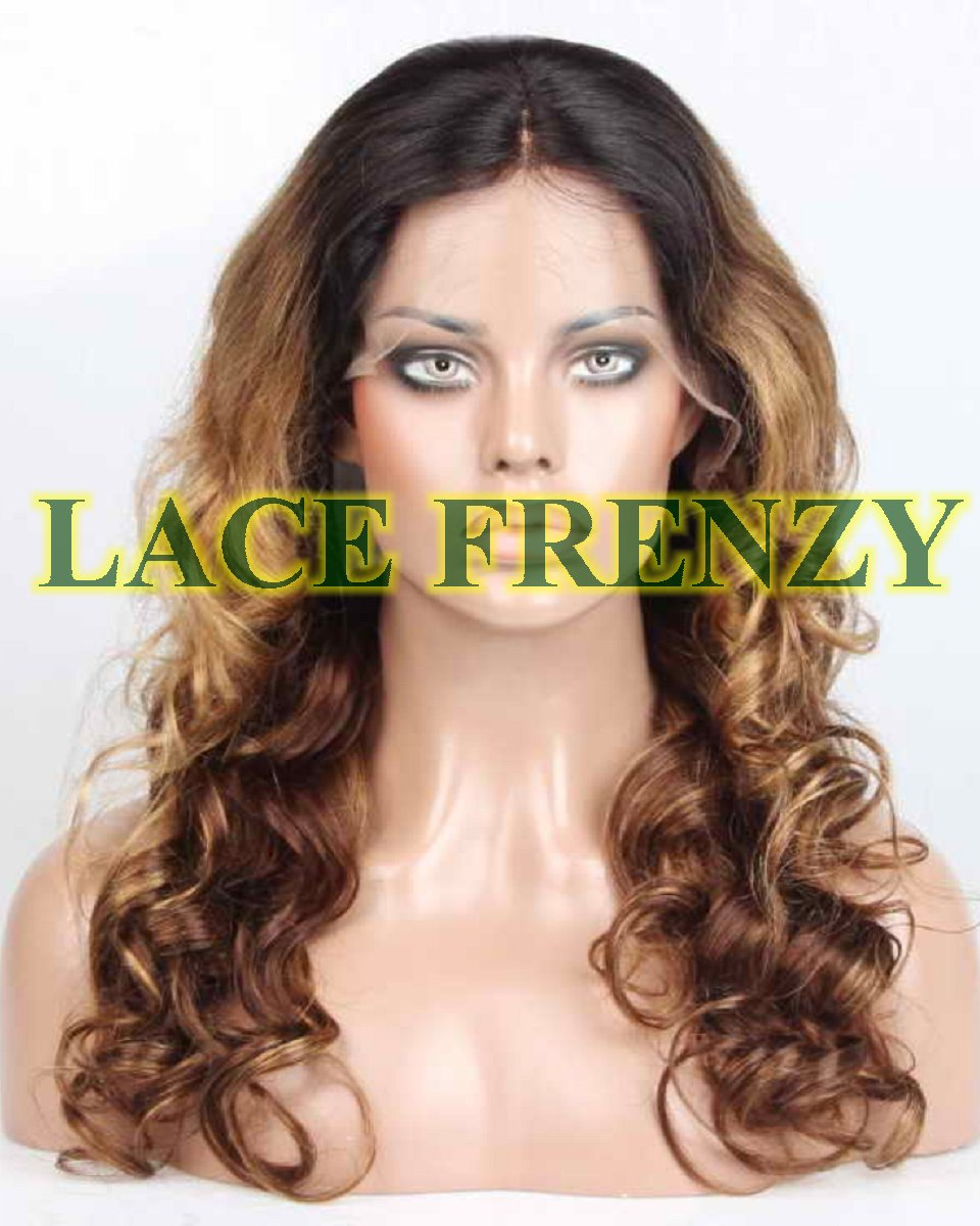 Amasalee' - 20 Inches - Indian Remy Hair - Loose Wave - Lace Front Wig