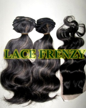 Body Wave - 3.5x4 Inches Top Closure & 200g Machine Weft Bundle Kit