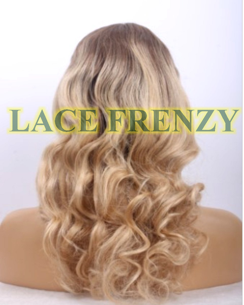 Curly European virgin full wig that you can put in a high ponytail