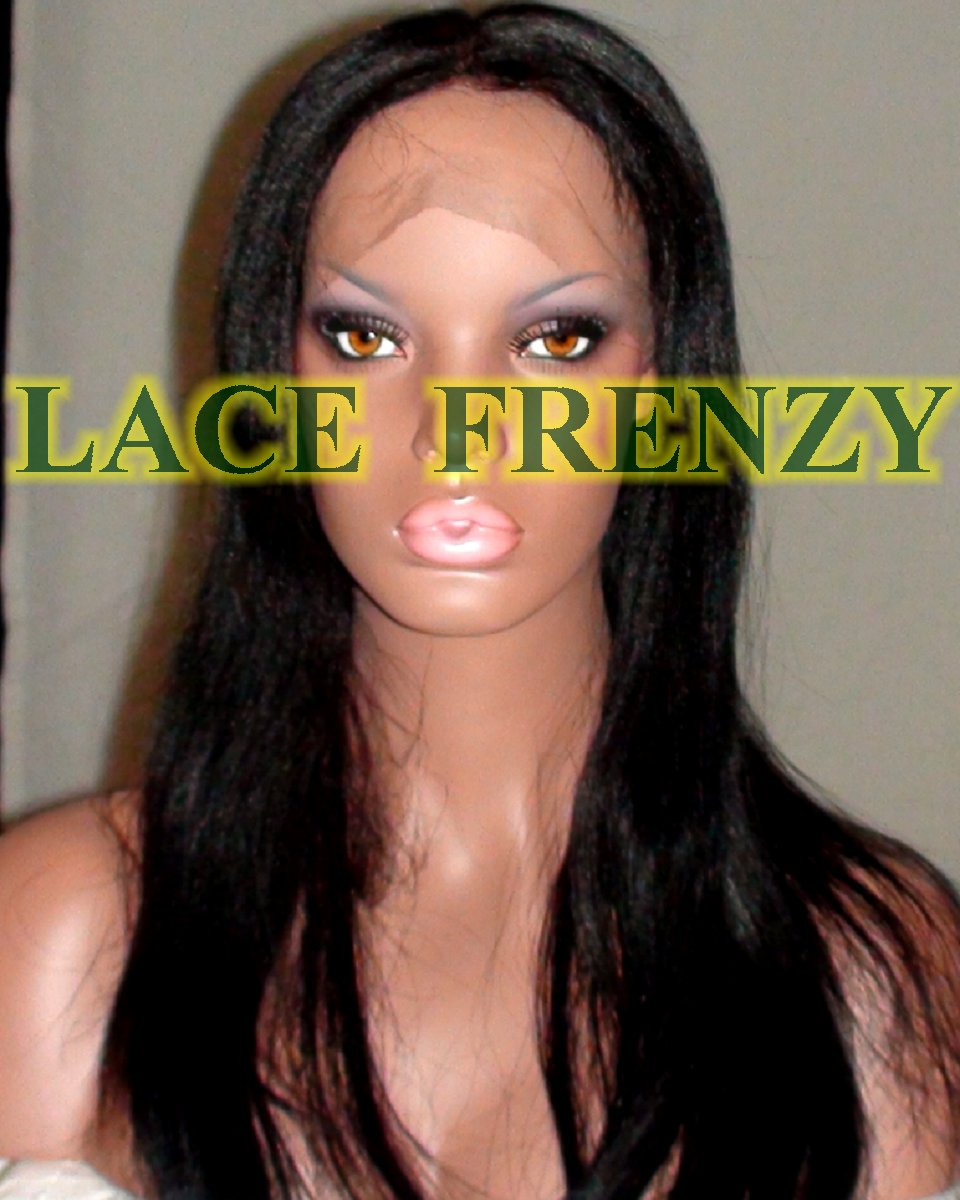 Leslie - Indian Remy Hair - Light Yaki - Silk Top Full Lace Wig