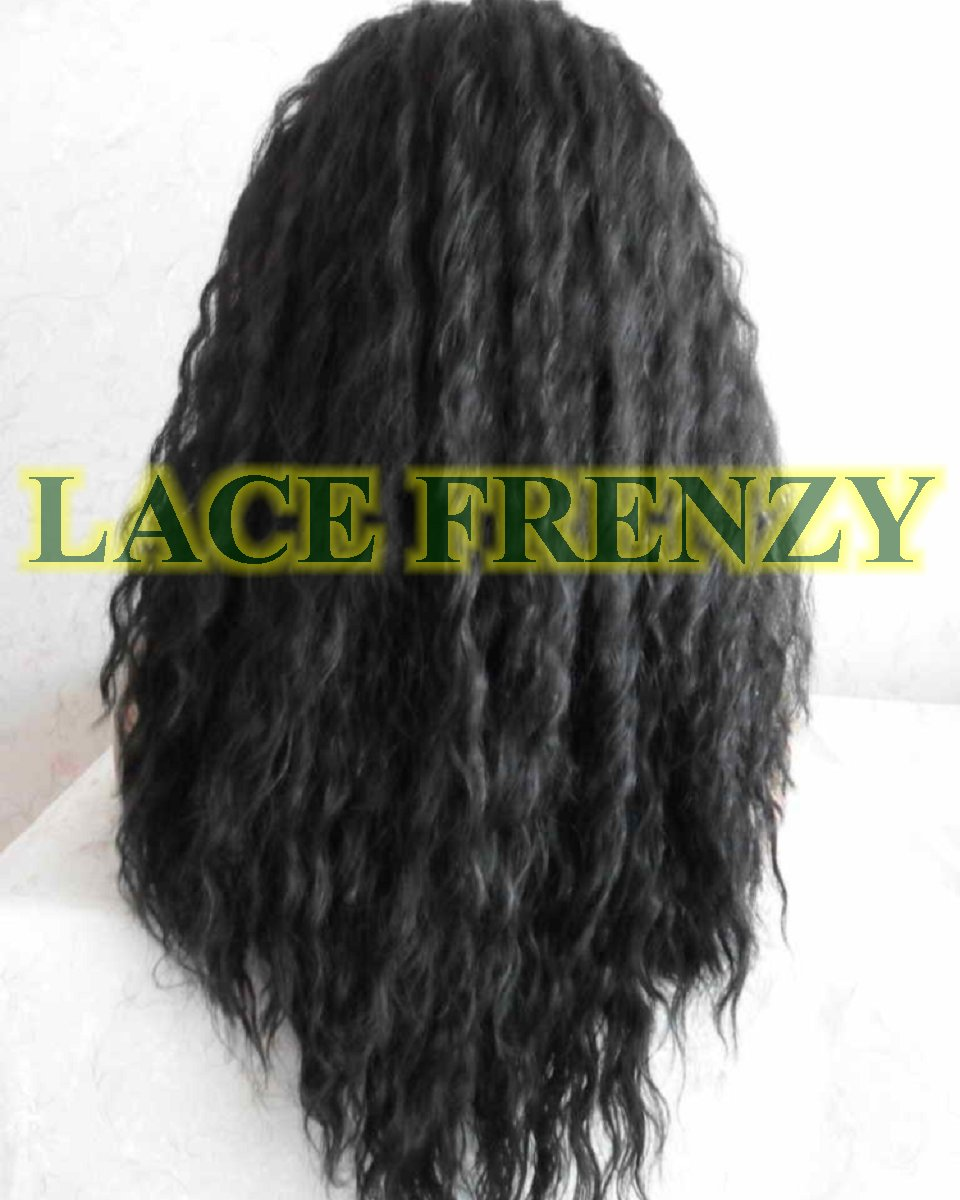 Montana - 18 Inches - Crimp Curl - Lace Front Wig