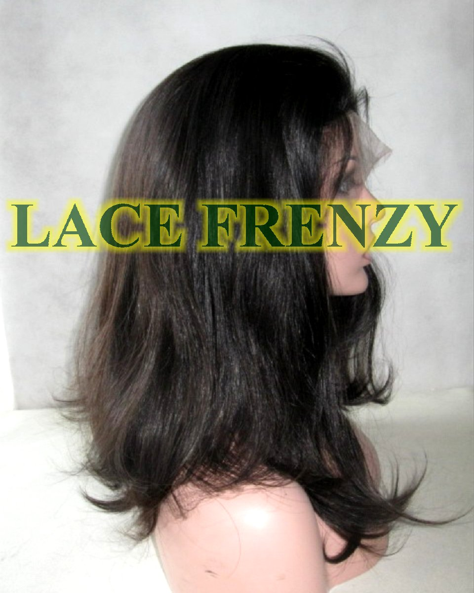Phyllicia - 16 Inches - European Virgin Hair- Full Lace Wig