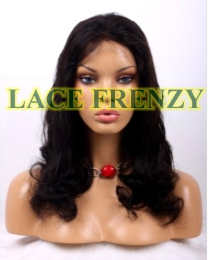 Bria - 20 Inches- Body Curl - Malaysian Virgin Hair - Full Lace Wig