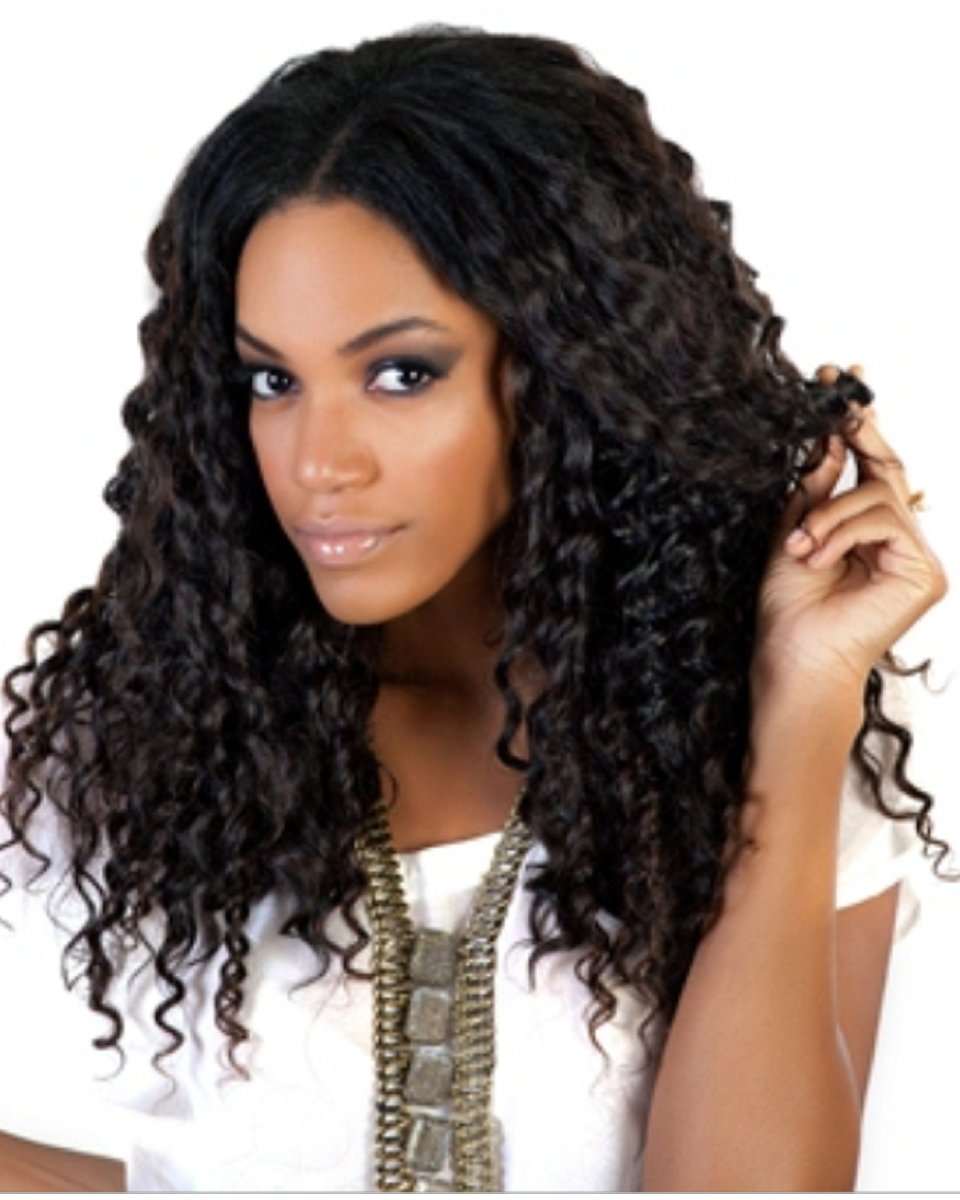 Brazilian Virgin Hair- Molado Curly - 200g Machine Weft Bundle Kit