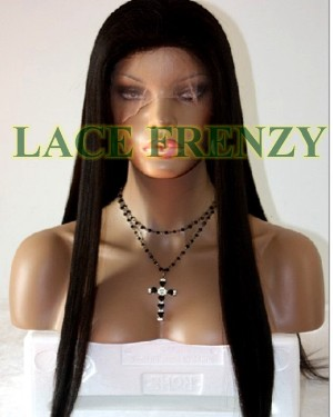 Bree - Yaki - Malaysian Virgin Hair - Full Lace Wig