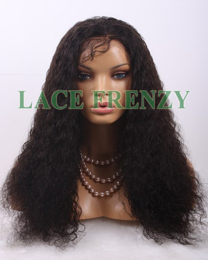 Mongolian virgin full lace wig