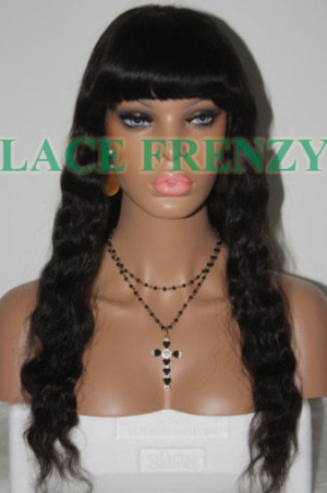 Kim- 20 Inches- Wavy - Custom Full Lace Wig