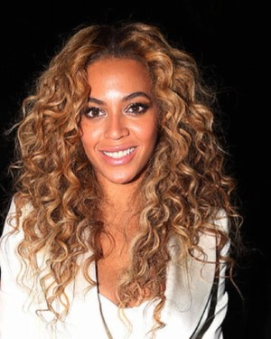 Beyonce - Curly - Two Toned - Custom Celebrity Lace Wig