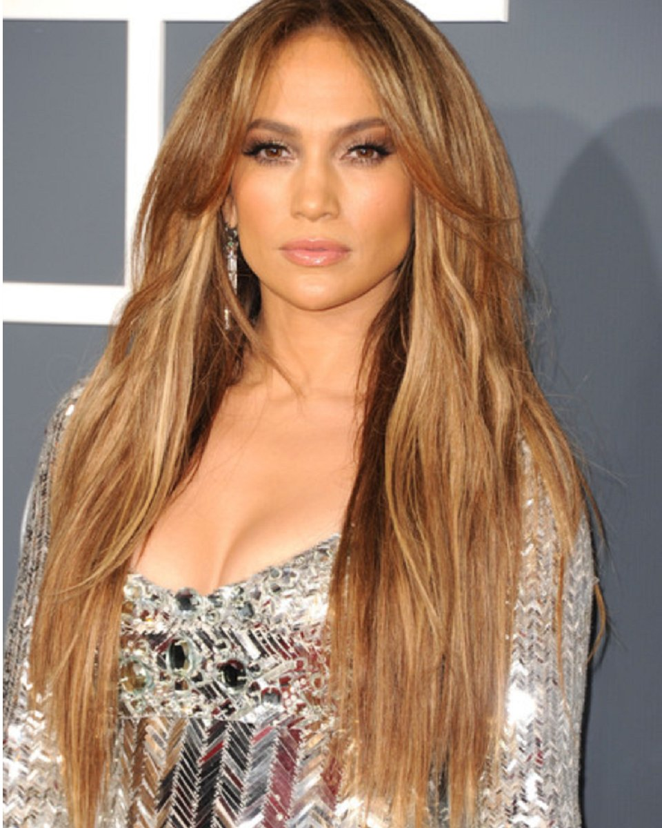 Jennifer Lopez custom layered celebrity wig