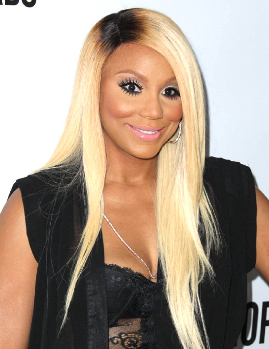 Tamar Braxton two toned straight custom wig