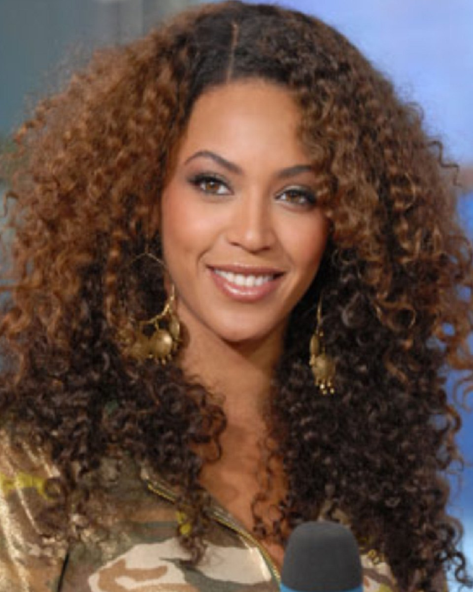 Beyonce - Two Toned- Tight Curl- Custom Celebrity Lace Wig