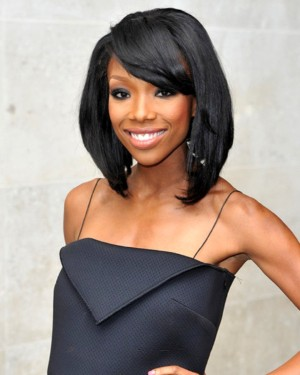 Brandy - Bob Cut w/ Side Bang - Custom Celebrity Lace Wig
