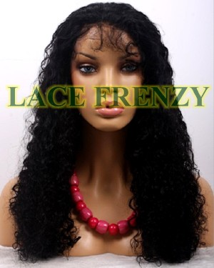 Jocelyn -22 Inches - Indian Remy Hair - Loose Wave - Lace Front Wig