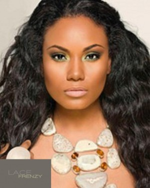 Alexis - Natural Wavy - Malaysian Virgin Hair Glue-less Full Lace Wig