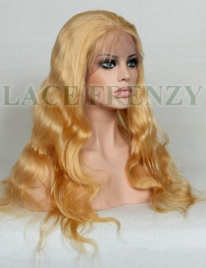Silvia - 18 Inches - Body Wave- Chinese Virgin Hair- Full Lace Wig