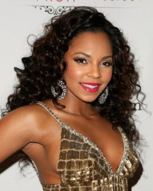 Ashanti custom deep wave lace wig