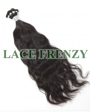 Brazilian Virgin Hair - Natural Wave - Hand Tied Wefts