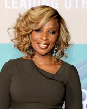 Mary J. Blige Body Curl Custom Celebrity Lace Wigs