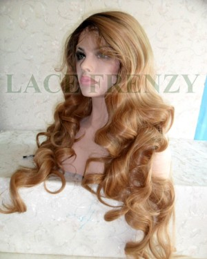 Body Curls lace front wig