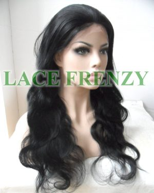 Chyna - Brazilian Virgin Human Hair - Body Wave - Silk Base Lace Front Wig