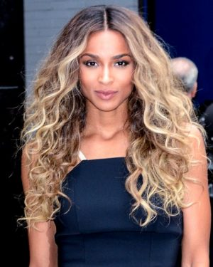 Ciara - Two Toned- Wavy - Custom Celebrity Lace Wig