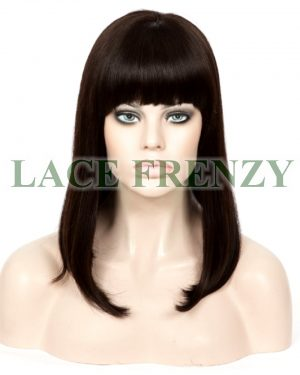Roxanne - 18 Inches -Chinese Virgin Hair -Silk Top Glueless Lace Wig