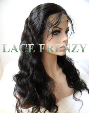 Alicia - Body Wave- Malaysian Virgin Hair - Silk Top Full Lace Wig