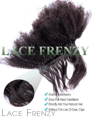 3PROD IMAGE KINKY AFRO 1 BUNDLE BRAID IN HAIR EXTENSIONS