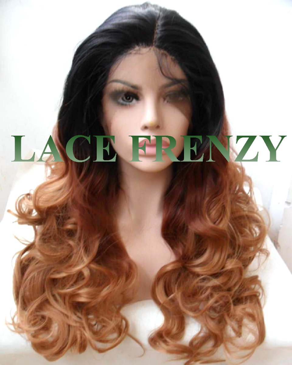 BillieJean- Curly Ombre - Lace Front Wig