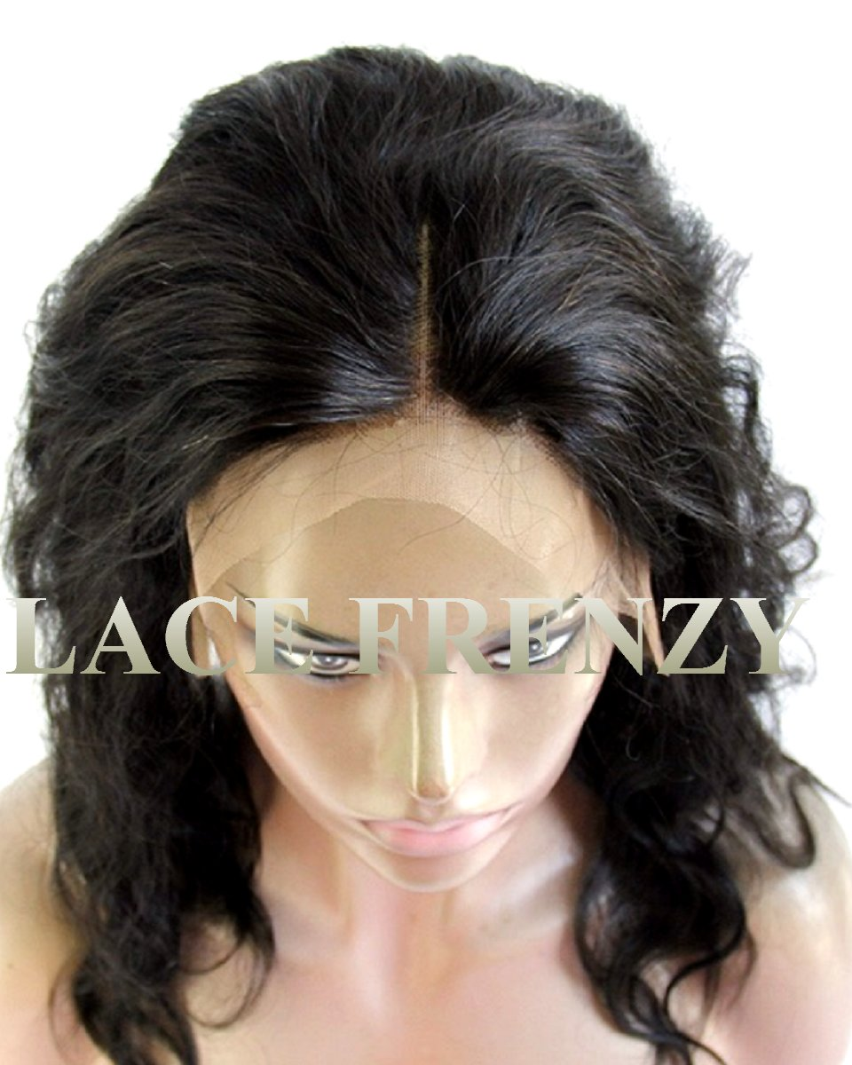 Custom - Virgin Human Hair - Silk Base 360 Lace Frontal