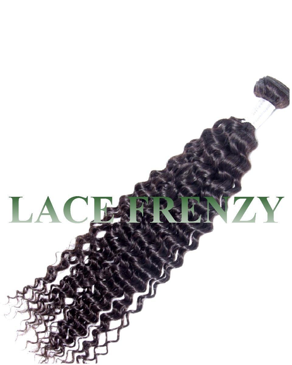 peruvian virgin hair deep curly 100g machine weft