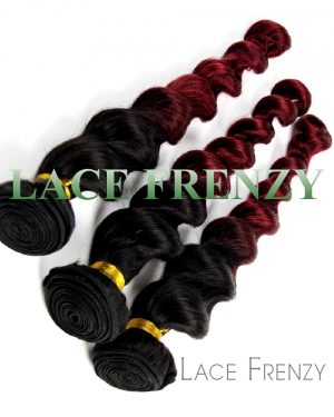 virgin human hair wavy layered bundle hair kit