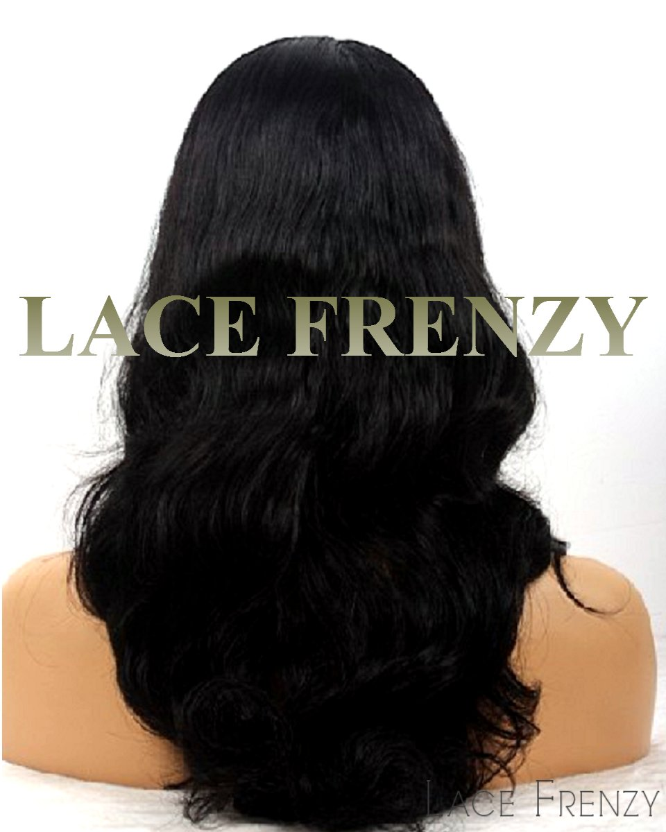 Indira- Indian Remy Hair - Natural Wave - Silk Top Full Lace Wig