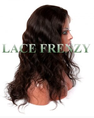 jackie body wave brazilian virgin hair silk top full lace wig