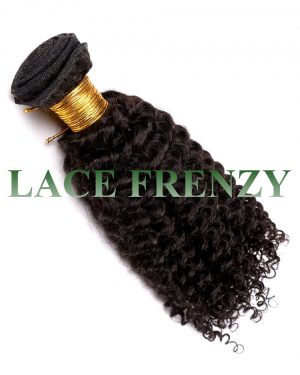 Kinky Curly Grade 7a Virgin Hair 100g Machine Weft