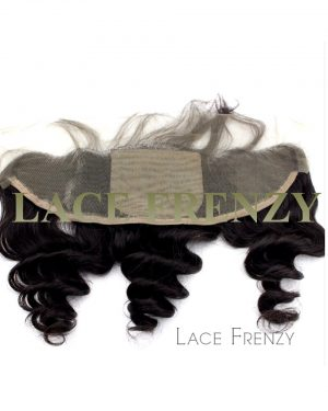 Virgin Human Hair - 13x4 Inches - Silk Base Lace Frontal