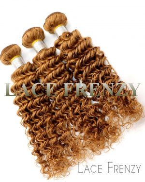 peruvian virgin hair deep curly layered bundle hair kit