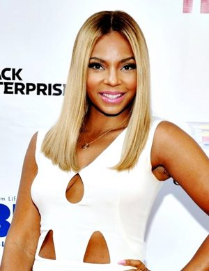 Ashanti - 14 Inches - Ombre' Bob Cut - Celebrity Replica Lace Front Wig