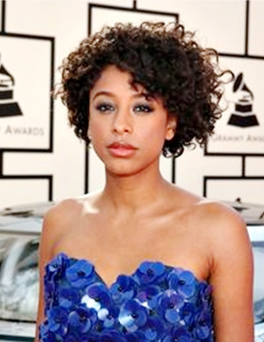 Corrine Bailey Rae - Curly - Celebrity Lace Front Wig Replica