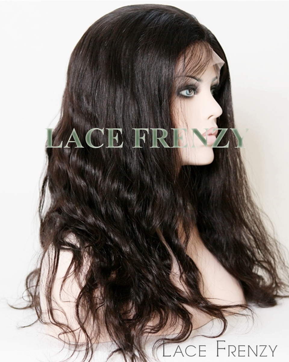 Elizza - Natural Wave - Malaysian Virgin Hair - Silk Top Full Lace Wig