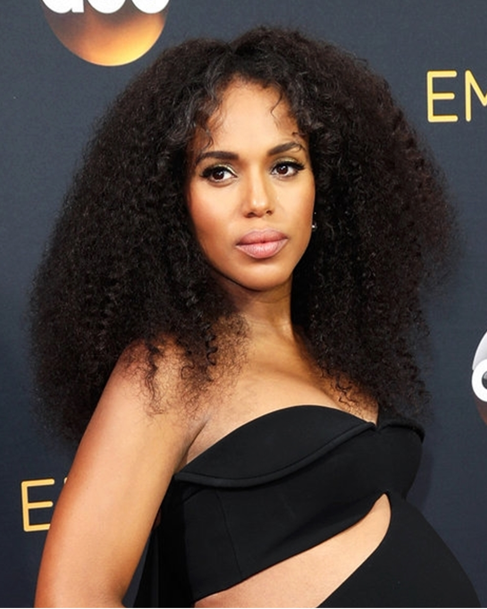 Kerry Washington- Kinky Curly - Celebrity Custom Lace Wig