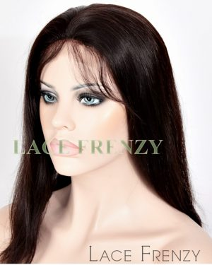 Sharon - Indian Remy Hair - Natural Straight - Silk Top Full Lace Wig