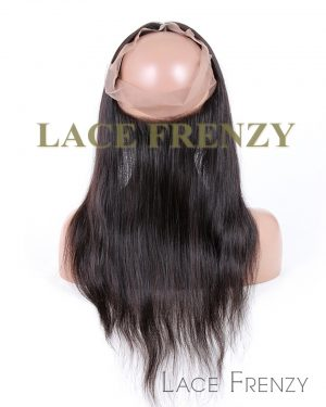 Chinese Virgin Human Hair - Light Yaki- 360 Lace Frontal